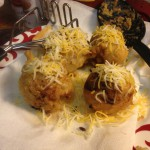 Deep fried burrito balls