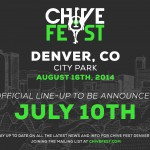 Chive Fest Denver lineup announced
